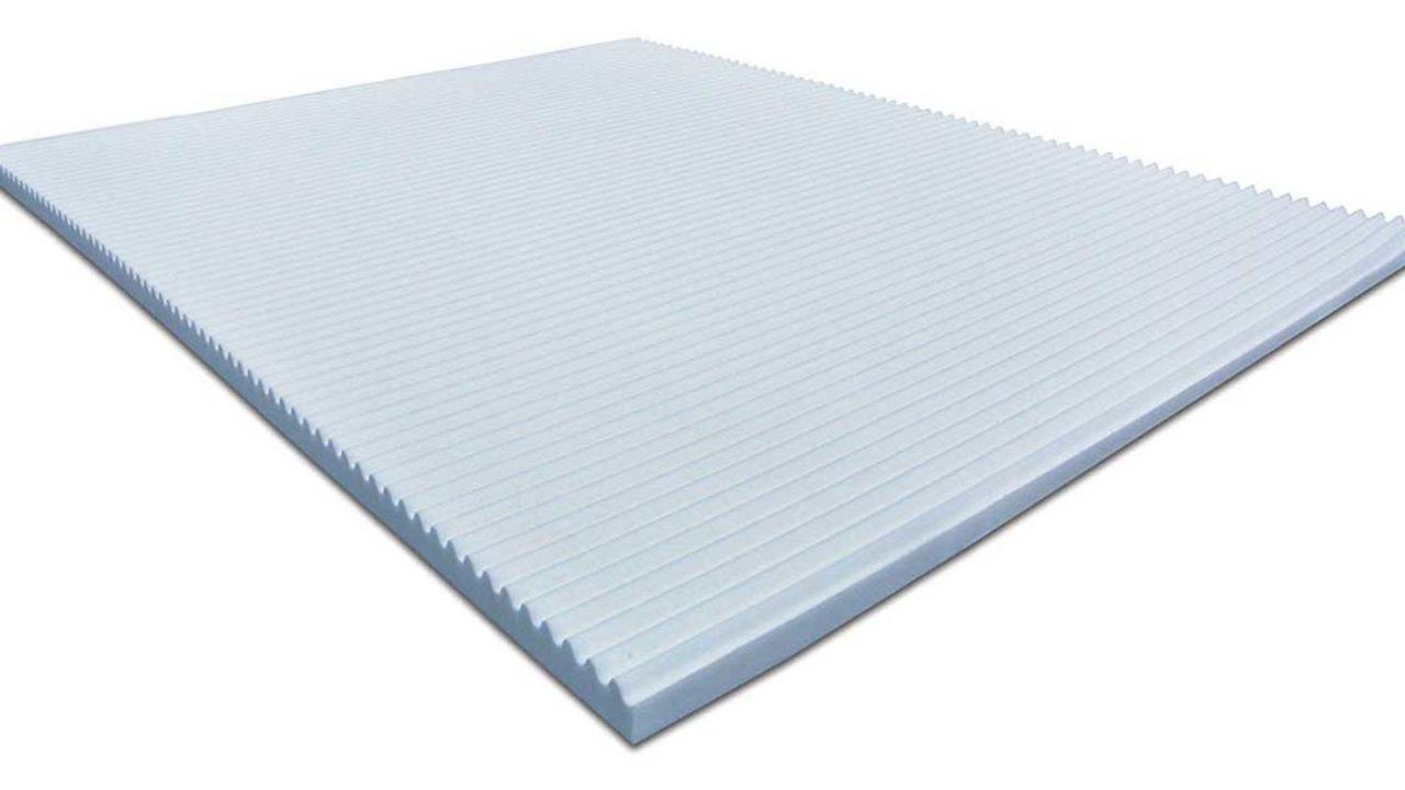 Pulire Materasso Memory Foam cr correttore materasso topper memory foam per materasso