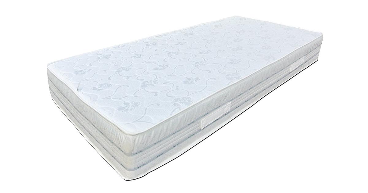 Baldiflex Materasso Singolo Easy 2.0 in Memory Foam, Ortopedico, Antiacaro