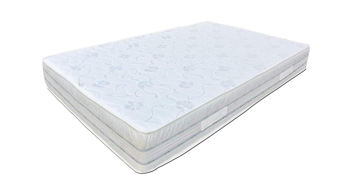 Baldiflex Materasso matrimoniale Easy 2.0 in Memory Foam, Ortopedico, Antiacaro