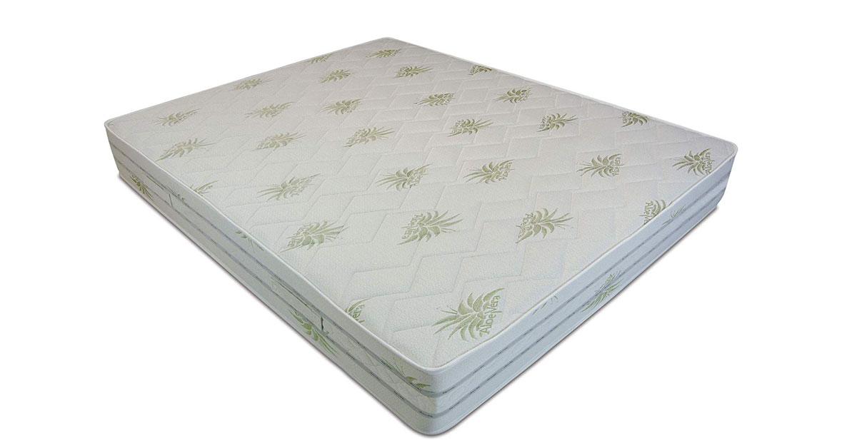 Baldiflex Materasso Easy 4.0 in Memory Foam, Fodera Aloe Vera, Ortopedico, Antiacaro