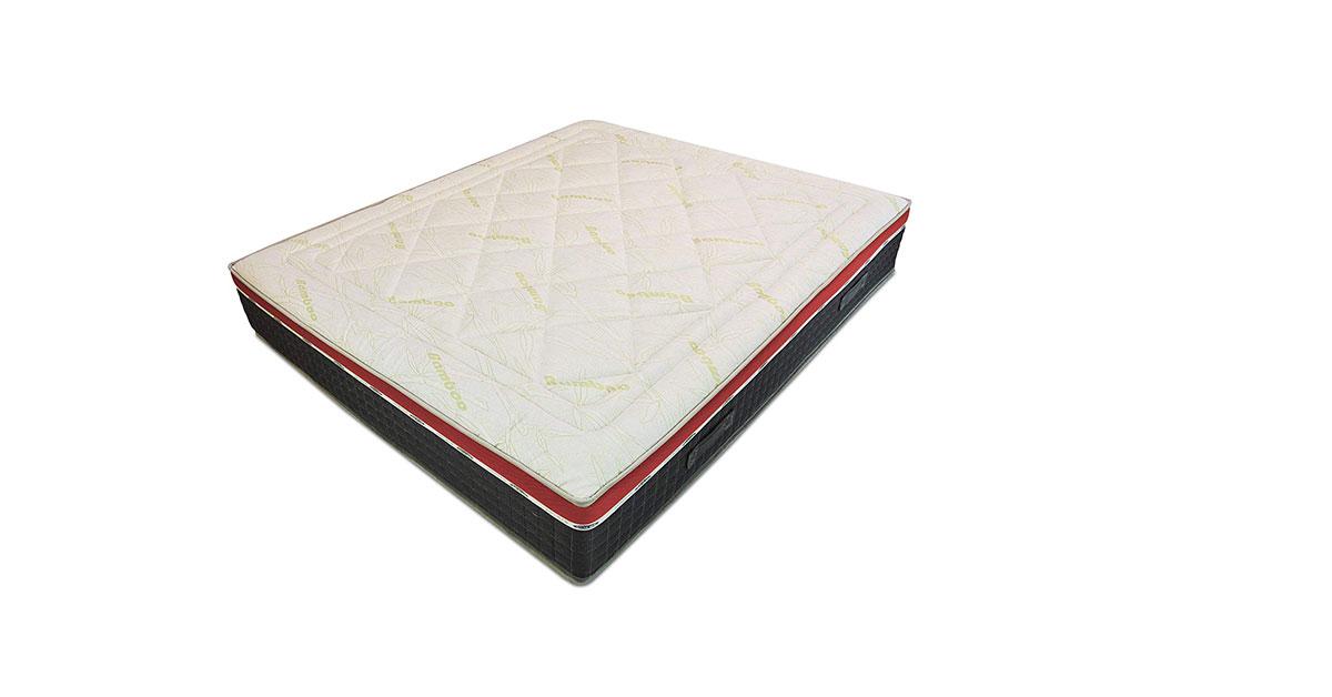 Baldiflex Materasso a Molle Insacchettate e Memory, Energy 800 Molle + 5 cm Memory, 7 Zone Differenziate, Altezza 26 cm